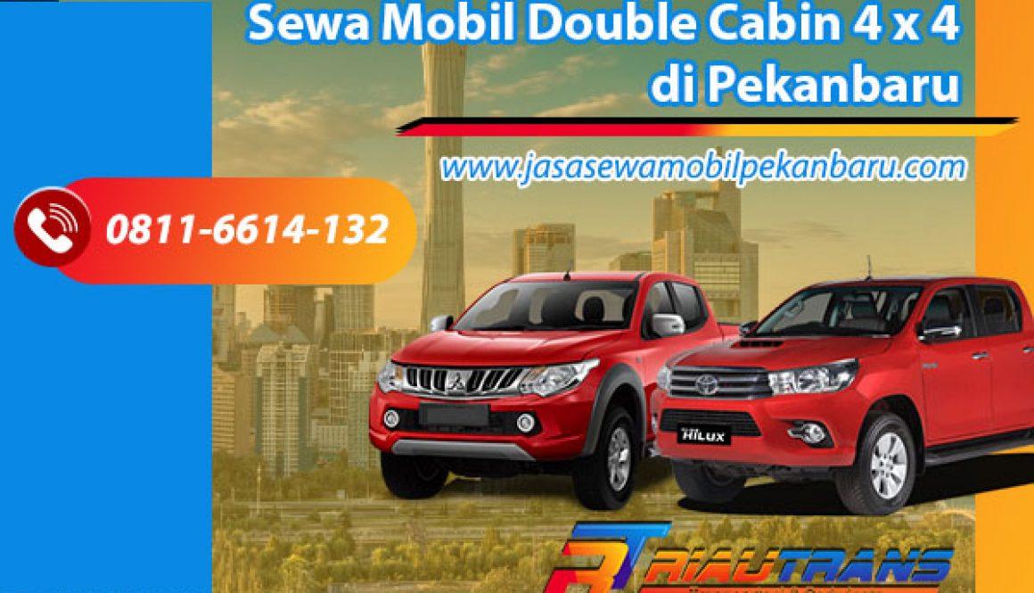 Sewa Mobil Double Cabin 4 x4 di Pekanbaru