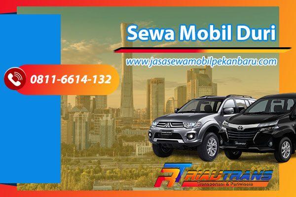 Sewa Mobil Duri - jasa sewa mobil pekanbaru