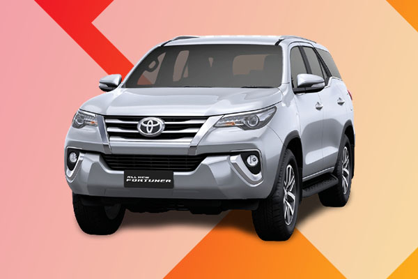 <h4>Toyota Fortuner</h4>
