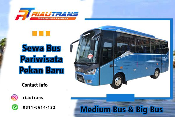 sewa bus pariwisata pekan baru