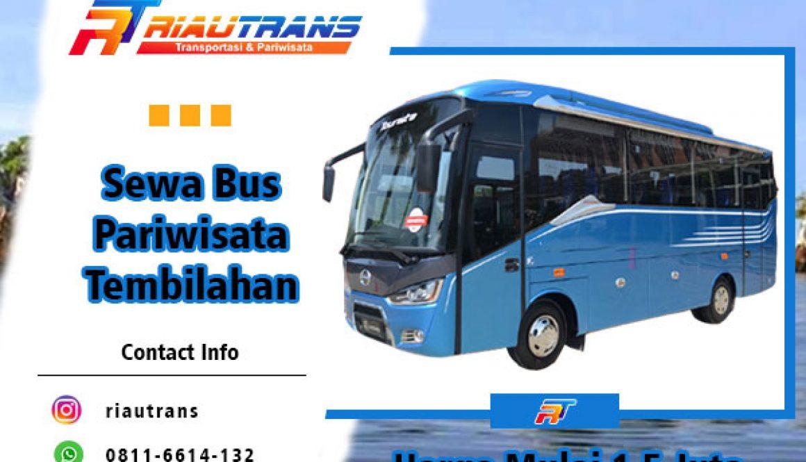 sewa bus pariwisata tembilahan