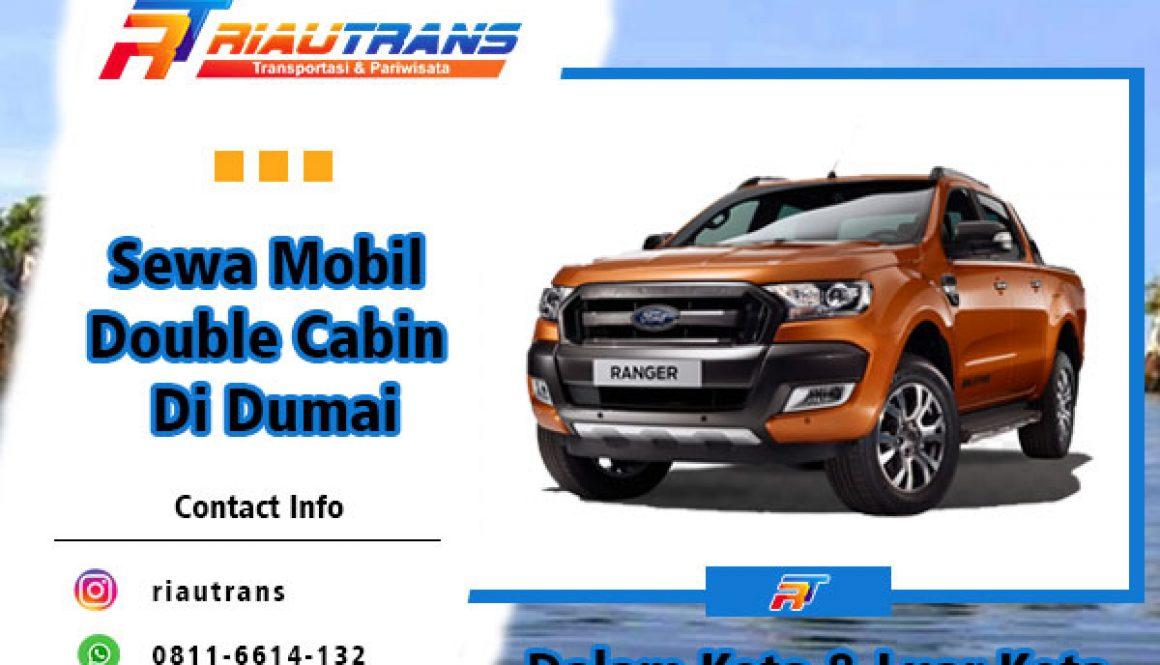 Sewa Mobil Double Cabin di Dumai
